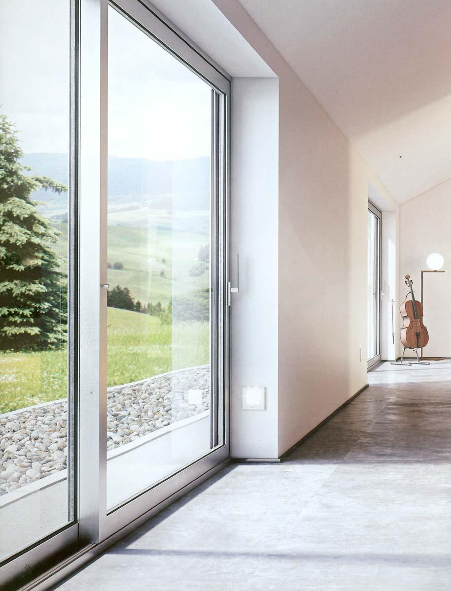 Infissi in alluminio moderni e resistenti futura infissi - Infissi e finestre ...