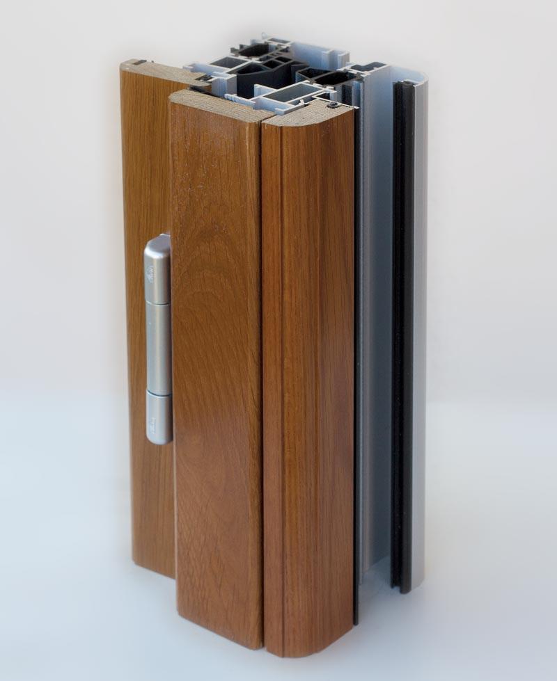 particolare serramenti legno alluminio