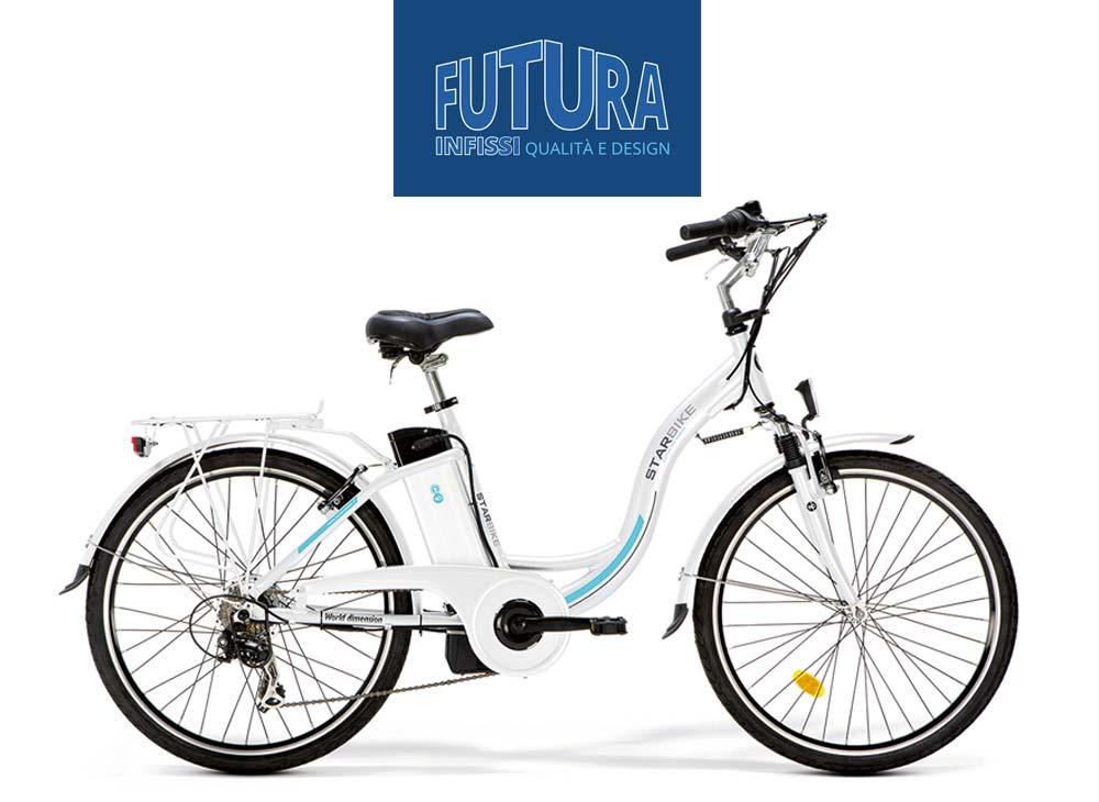 promozione futura infissi: bicicletta in regalo