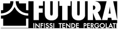 Logo footer futura infissi tende pergolati